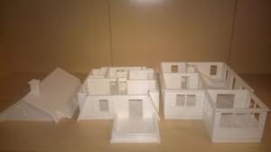 villa inmueble de 3 pisos