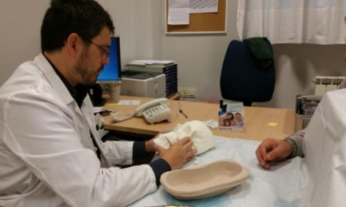 Planificación de cirugía con biomodelo 1