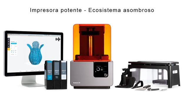 Domotek Form 2 Impresora 3d De Resina Sla L 225 Ser
