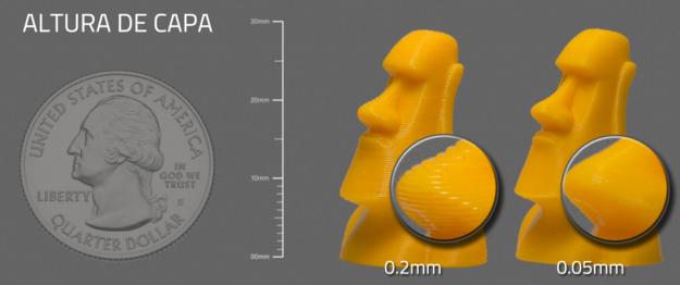 Atom 2.0 Impresora 3d de filamento - fdm