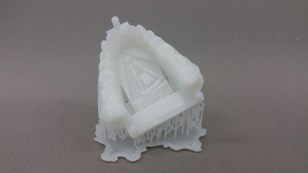 piezas dentales impresas en 3d con resina en sla con impresora fomlabs modelo form2