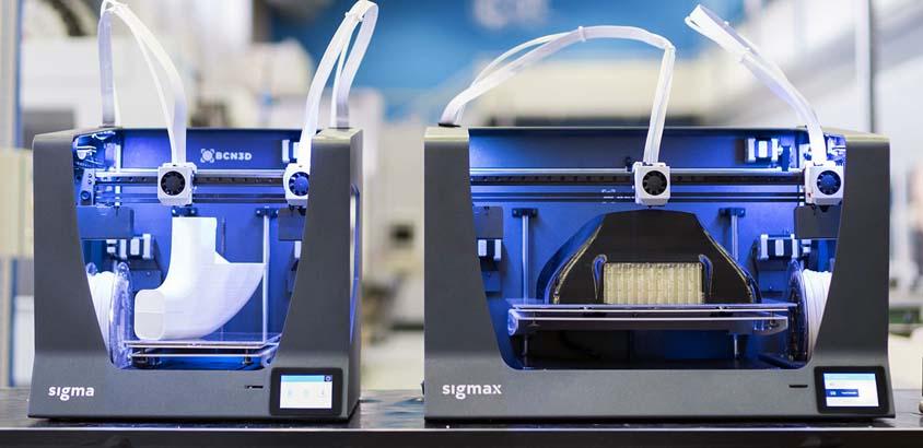 Sigma Impresora 3d de filamento - fdm