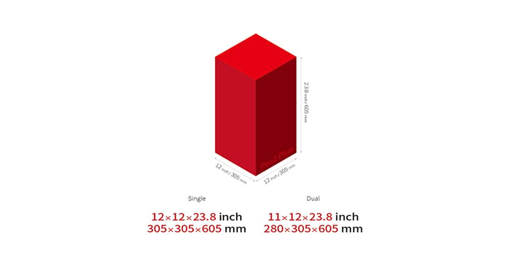 Raise3d gran volumen de construcción