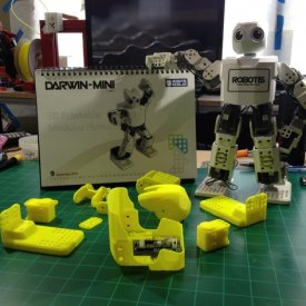 Thingiverse Robotis DARWIN-MINI