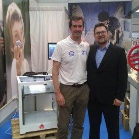 Con Jon Bengoetxea, CEO de Tumaker