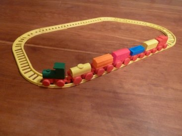 Thingiverse Toy Train Set