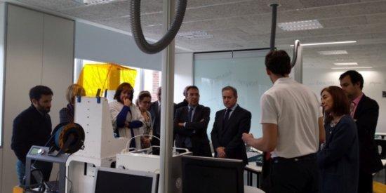 Explicando bondades de la Impresión 3d a los consejeros de educación de las diferentes CCAA